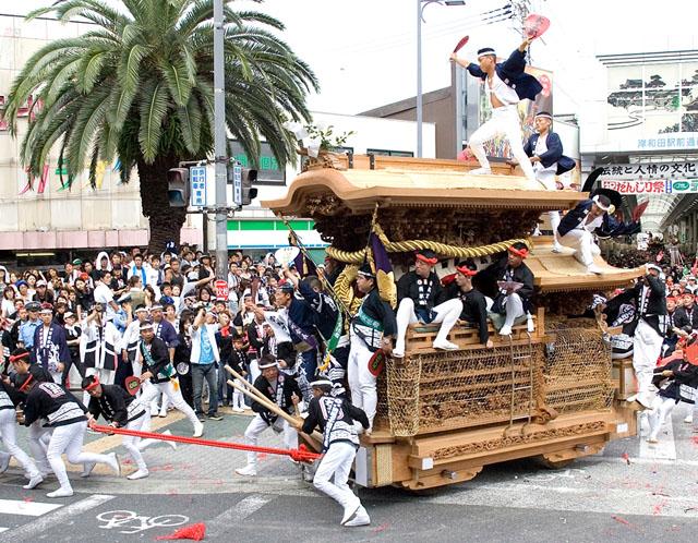 迫力満点の祭りで知られる「岸和田だんじり祭り」をご紹介します!|Joytrip[ジョイトリップ]